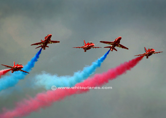 RA0012 - BAe Hawk T1/T1a RED ARROWS 'Rollbacks'